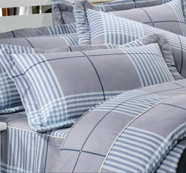 華閣床墊寢具:*華閣床墊寢具*《深情密碼》單人兩用被/夏天當涼被冬天可入被胎台灣精製MIT