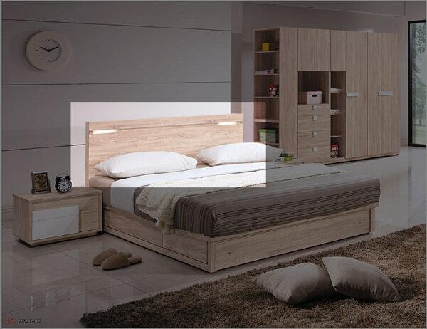 【尚品傢俱】HY-A145-01多莉絲5尺床頭片(另有6尺)