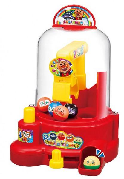 領券現折100★折扣後$880!日本 ANPANMAN 麵包超人 手動式迷你轉蛋機 夾娃娃機玩具 夾扭蛋*夏日微風*