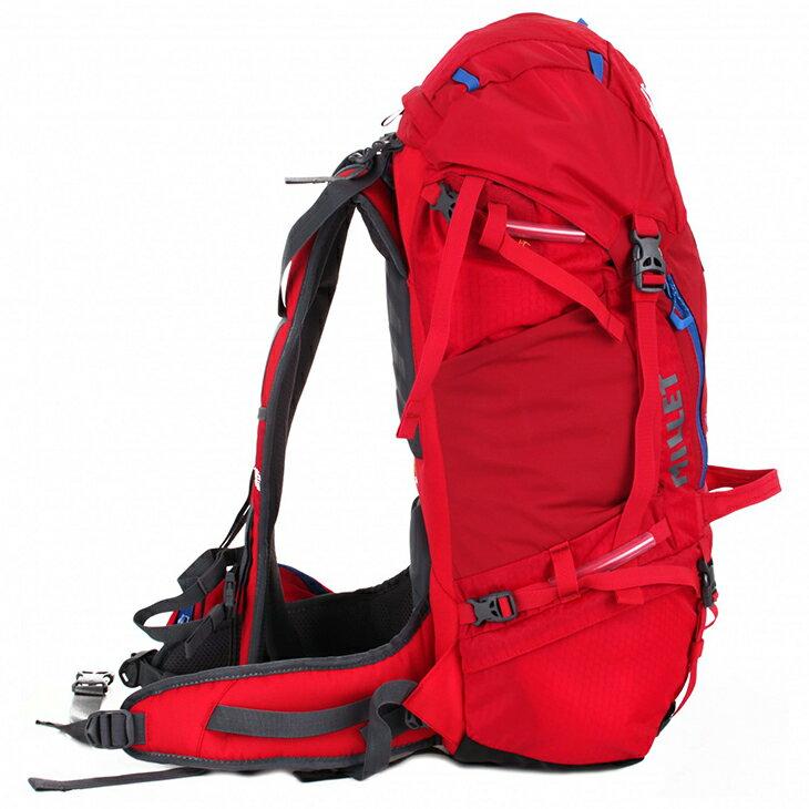 【Millet】UBIC 30 男款登山健行/休閒旅遊背包 紅色 mis1922 Travellight旅形