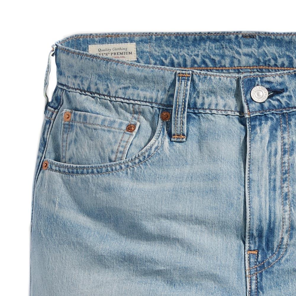 Levis 男款 上寬下窄  /  502 Taper 牛仔褲  /  淺藍洗舊  /  及踝款 4