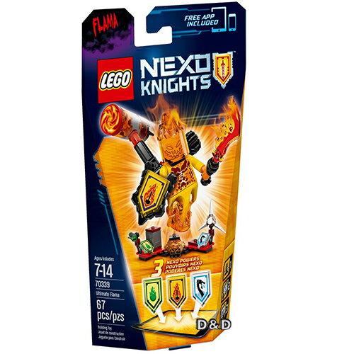 樂高積木LEGO《 LT70339 》Nexo Knights 未來騎士系列 - 終極弗萊瑪