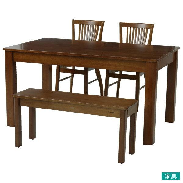 ◎南洋檜木餐桌椅四件組 比特 NITORI宜得利家居 0