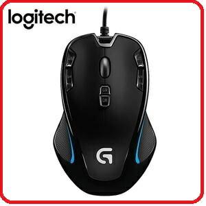 Logitech 羅技 G300s 玩家級光學滑鼠