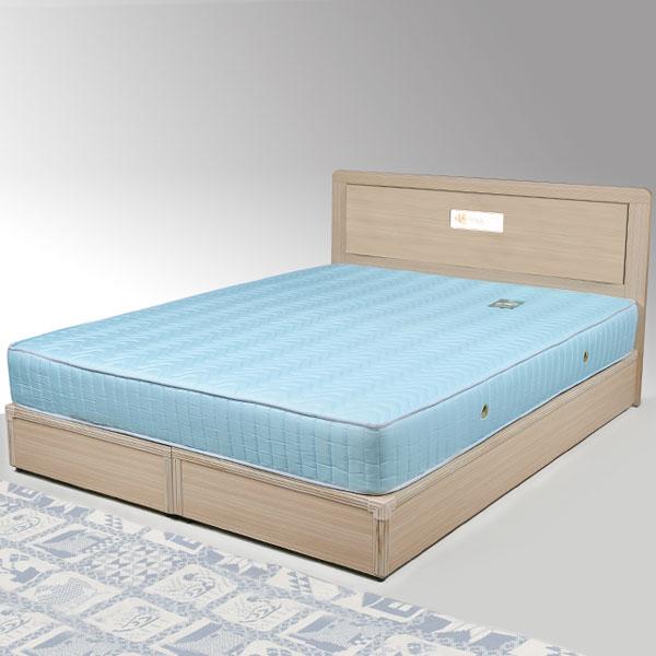 雙人床 床組 床台 床架 房間組 臥室《Yostyle》朵拉床組-雙人加大6尺(白橡木紋)
