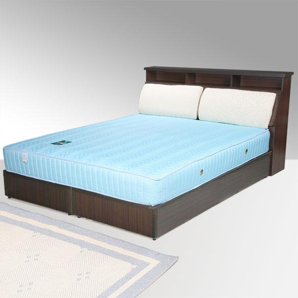 雙人床 床組 床台 床架 房間組 臥室《Yostyle》黛絲床組-雙人5尺(胡桃木紋)