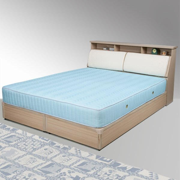 雙人床 床組 床台 床架 房間組 臥室《Yostyle》黛絲床組-雙人5尺(白橡木紋)