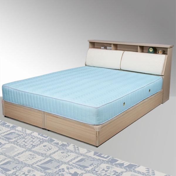 雙人床 床組 床台 床架 房間組 臥室《Yostyle》黛絲床組-雙人加大6尺(白橡木紋)