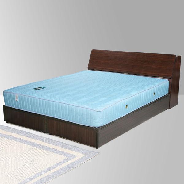 雙人床 床組 床台 床架 房間組 臥室《Yostyle》諾雅床組-雙人5尺(胡桃木紋)
