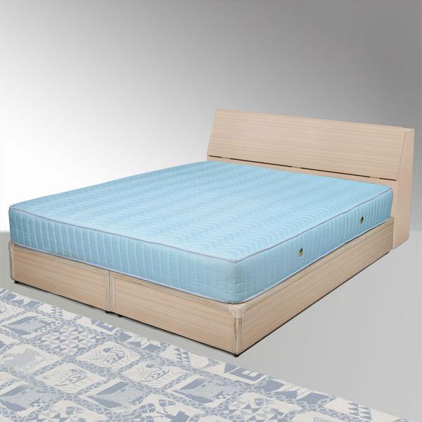 雙人床 雙人加大 床組 床台 床架 房間組 臥室《Yostyle》諾雅床組-雙人加大6尺(白橡木紋)