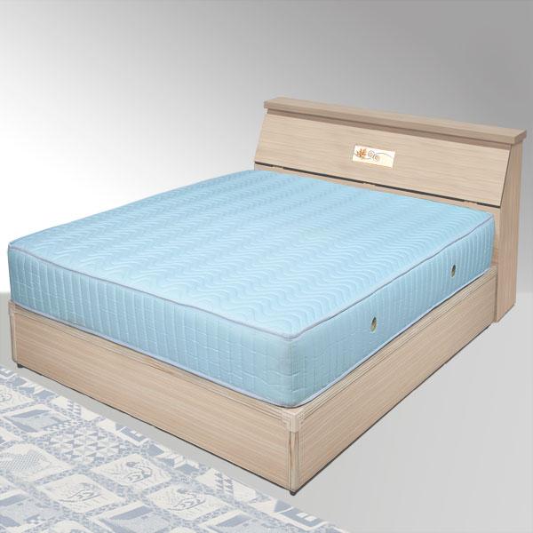 單人床 床組 床頭箱 床台 床架 房間組 臥室《Yostyle》席歐床組-單人3.5尺(白橡木紋)
