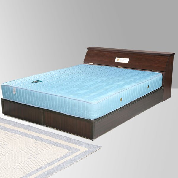 雙人床 床組 床頭箱 床台 床架 房間組 臥室《Yostyle》席歐床組-雙人加大6尺(胡桃木紋)