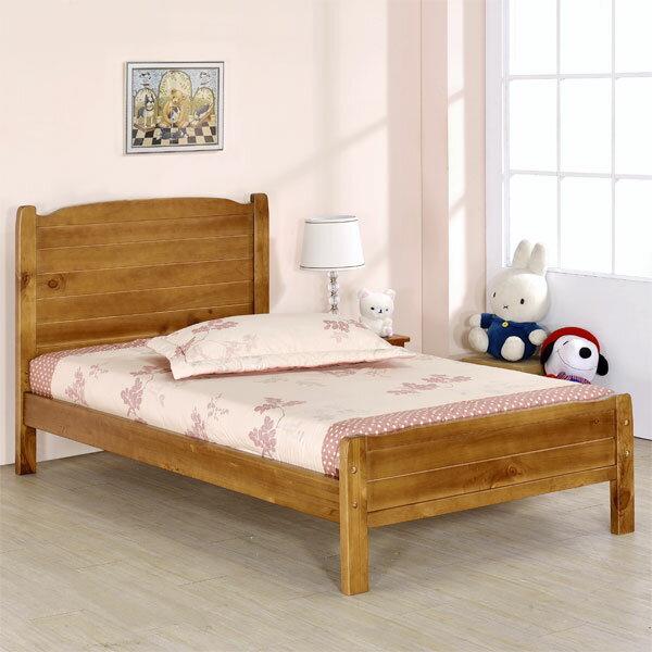 床架/床台/床組/單人床/木床架/床組/房間組/臥室【Yostyle】采風床架組-單人3.5尺