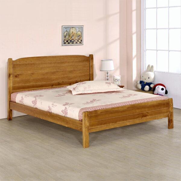 床架/床台/床組/雙人床/木床架/床組/房間組/臥室【Yostyle】采風床架組-雙人5尺