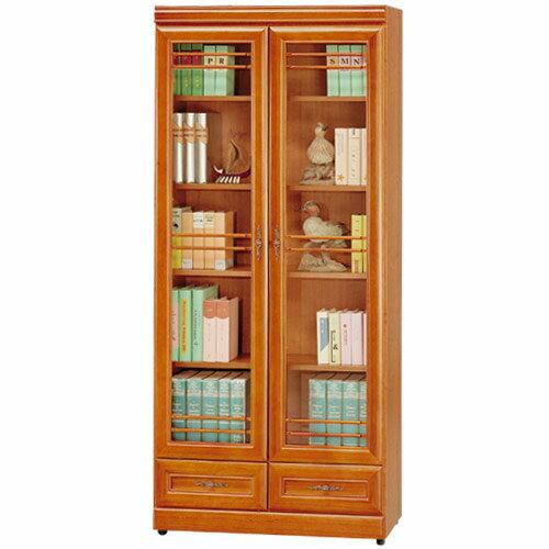 書櫃 樟木 大型書櫃 櫥櫃 展示櫃 置物櫃 收納櫃《Yostyle》樟木2.7尺下抽收納書櫃