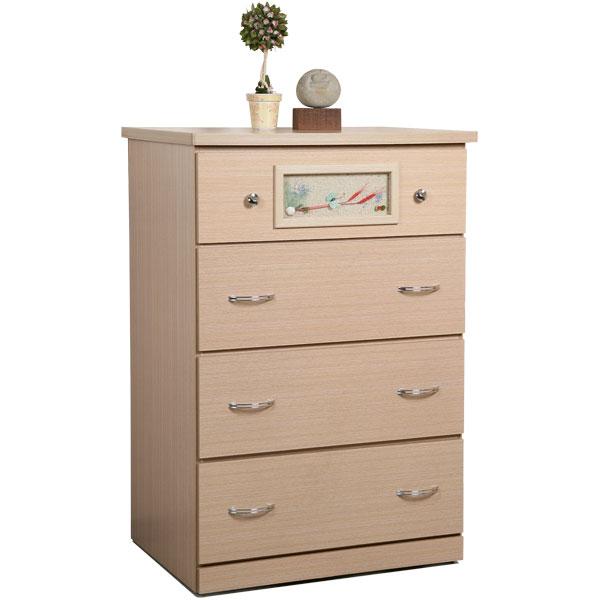 Yostyle 黛絲四斗櫃(白橡木紋) 衣櫃 衣櫥 收納櫃