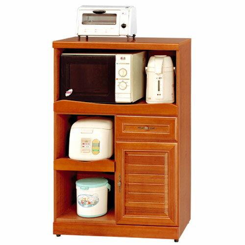 《yostyle》樟木2.7尺廚房收納櫃/櫥櫃/餐櫃/置物櫃