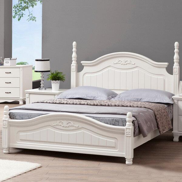 Yostyle 琳達床架組-雙人加大6尺-公主風 歐風 房間組 套房  雙人床