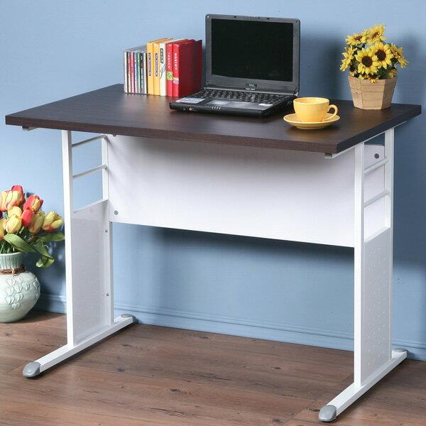辦公桌 書桌 電腦桌 工作桌 會議桌《YoStyle》巧思辦公桌 加厚桌面 100cm