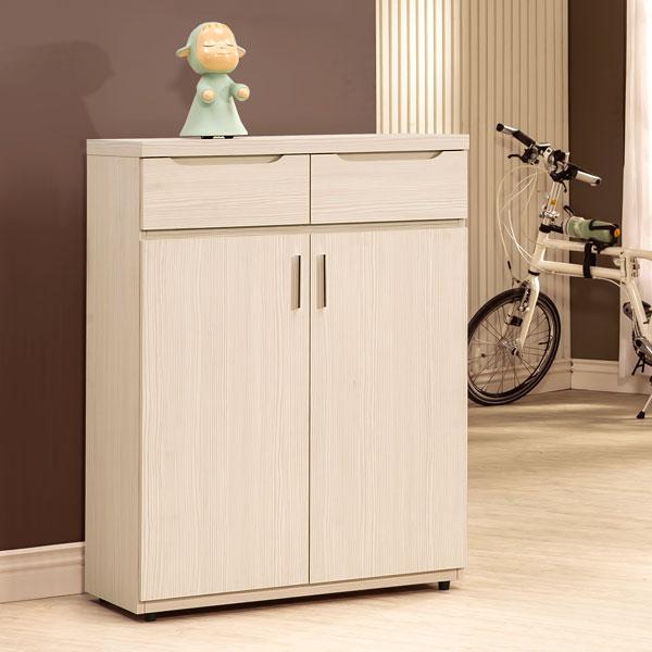 鞋櫃 櫥櫃 有門鞋櫃 置物櫃 收納櫃 玄關櫃《YoStyle》愛麗絲2.7尺鞋櫃