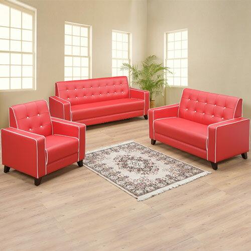 時尚經典沙發組(1+2+3)(兩色可選)❘沙發 / 皮沙發 / 沙發組 / 三人座 / 雙人沙發 / 單人沙發【YoStyle】 0