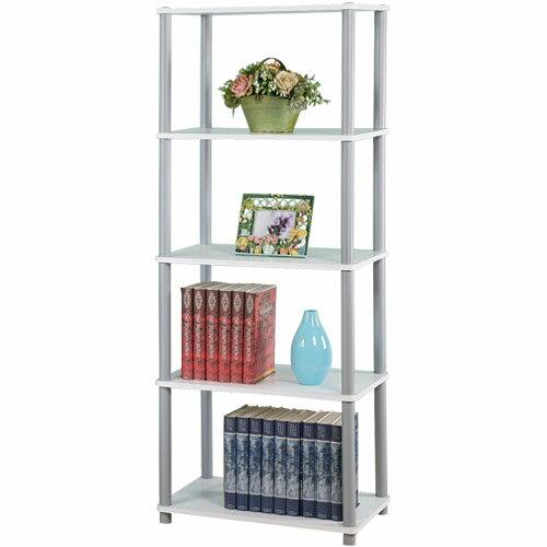 展示架 置物架 組合架 電器架 書架 收納架 置物櫃《Yostyle 》60cm五層系統置物架(二色可選)
