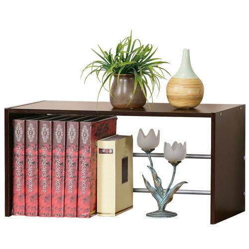 YoStyle 可疊式置物書架(二色可選) 置物架 桌上架