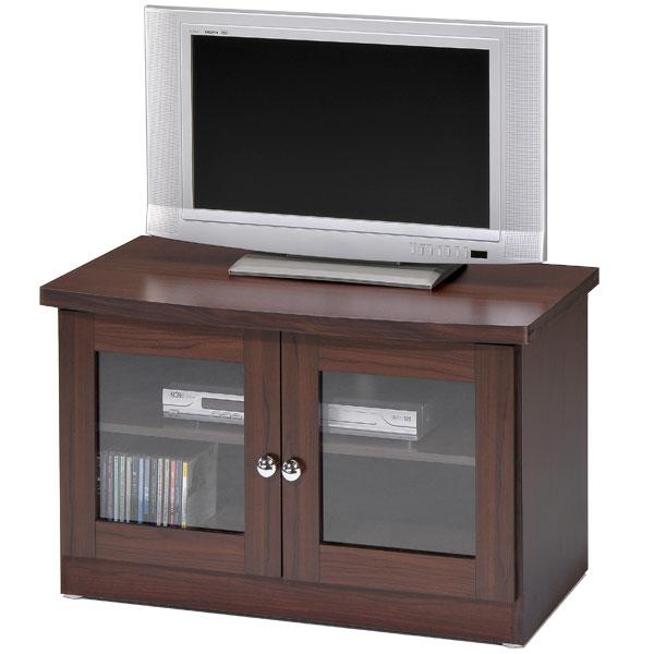 電視櫃 視聽櫃 展示櫃 收納櫃 置物櫃 客廳收納《YoStyle》簡約雙門電視櫃(胡桃木紋)