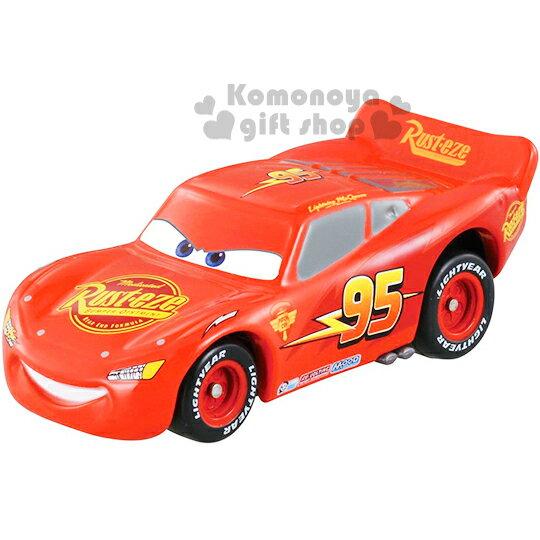 〔小禮堂〕迪士尼 CARS閃電麥坤 TOMICA合金小汽車《紅.cars2開場版》經典造型值得收藏