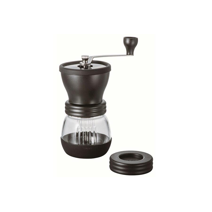 金時代書香咖啡 HARIO 簡約手搖磨豆機 升級版 黑 MSCS-2DTB