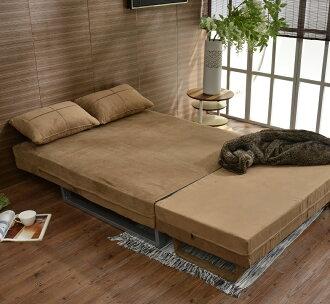 【艾新覺羅】五段式調整彈簧沙發床墊(雙人坐布沙發、單人睡獨立筒床墊) 布套可全拆洗※100%台灣製造(沙發床/沙發/雙人沙發/布沙發/單人床墊/獨立筒床墊)★班尼斯國際家具名床