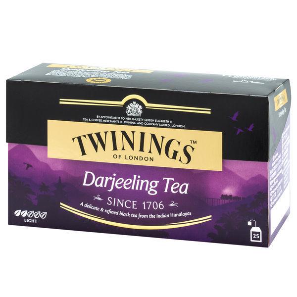 TWININGS 唐寧茶-歐式大吉嶺茶包 DARJEELING TEA 2*25入/盒