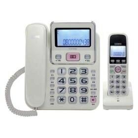 聲寶 CT-W1304DL 2.4GHz高頻數位無線電話-白色