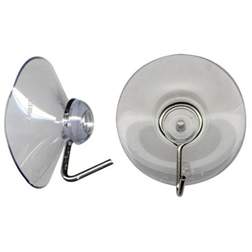 """Suction Cup Hangers Are 1-1/2"""" Diameter Clear Vinyl with Sturdy Metal Display Hooks (Pkg./100) e92be440bc0e74ee4b31bf5e599ffcd5"""