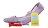 [女款] 國外代購TOMS 帆布鞋/懶人鞋/休閒鞋/至尊鞋 蕾絲系列  淺紫 2