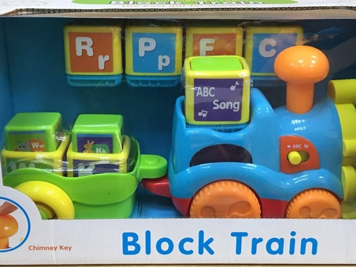 『121婦嬰用品館』雪印 ABC學習火車玩具(若將字母積木放入火車中會有A~Z的字母發音) 2