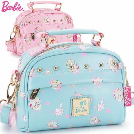 正版Disney迪士尼時尚芭比公主兒童時尚斜背包手提包女童小包包