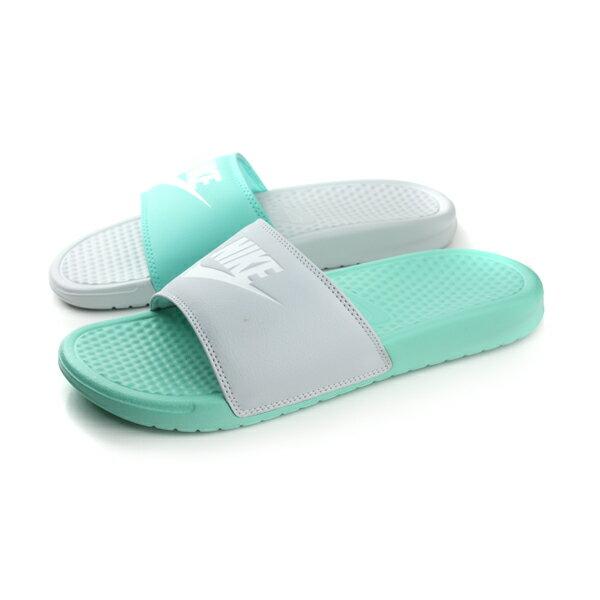 NIKE 拖鞋 淺綠色 男女鞋 no403