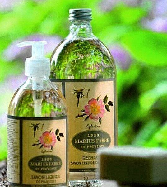 法國 MARIUS FABRE 法鉑 天然草本液體皂^(附壓頭^)1000ml 9種香味
