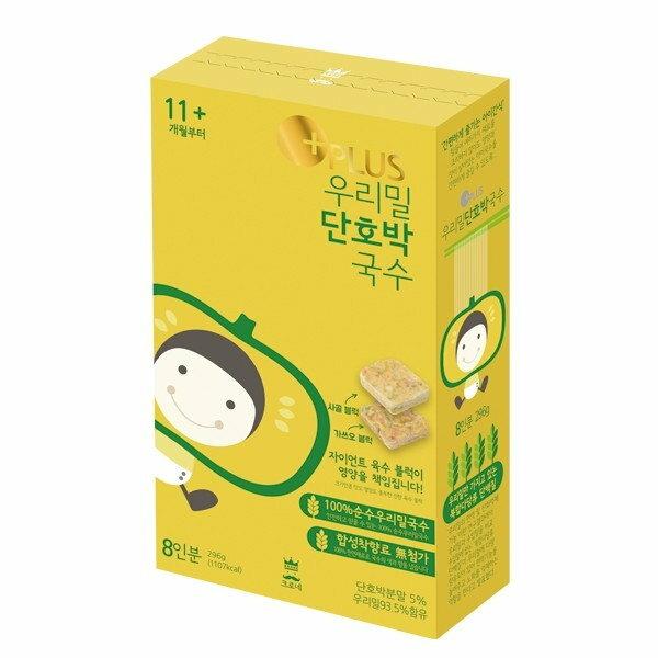 韓國【KRONE】皇家嬰幼兒小麥湯麵-甜南瓜(11個月以上)
