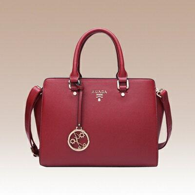 手提包真皮肩背包-春夏新款純色優雅女包包4色73se2【獨家進口】【米蘭精品】