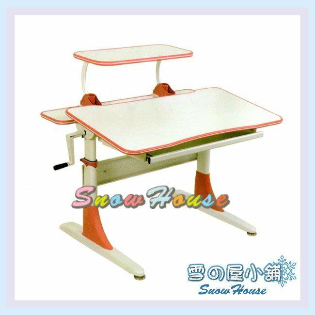╭☆雪之屋居家生活館☆╯R120-05 CT-808S-WP兒童桌(白/紅/DIY自組)/書桌/辦公桌/電腦桌/學生桌