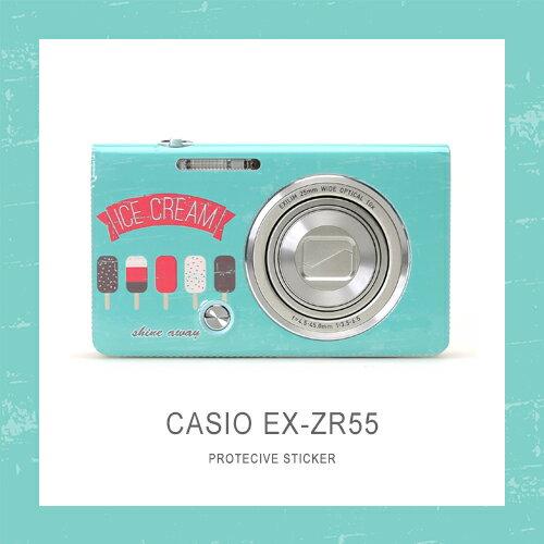 ★買貼膜再送手指環★只要評價★shine away CASIO ZR55 ZR65 貼膜 3M機身貼 貼紙 包膜 保護 3