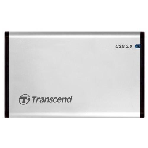 "Transcend StoreJet 25S3 2.5"" SATA USB 3.0 External Hard Drive Enclosure TS0GSJ25S3 1"