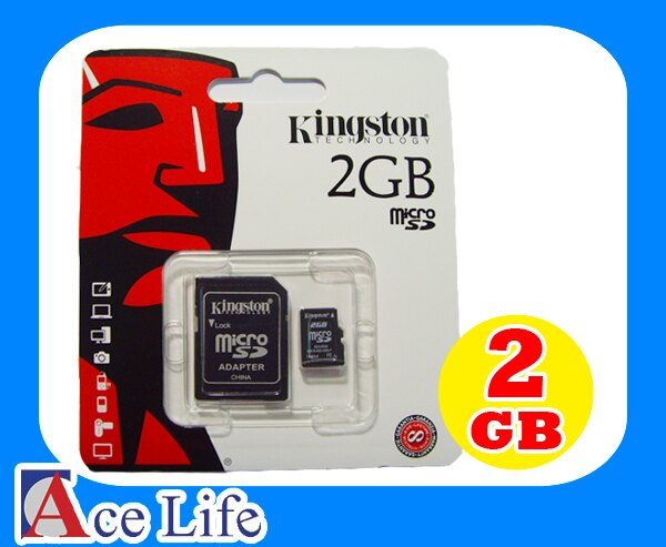 ~九瑜科技~Kingston 金士頓 2G 2GB micro SD SDHC TF 記憶