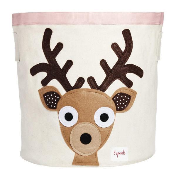【 貨】加拿大3 Sprouts 收納籃~小鹿