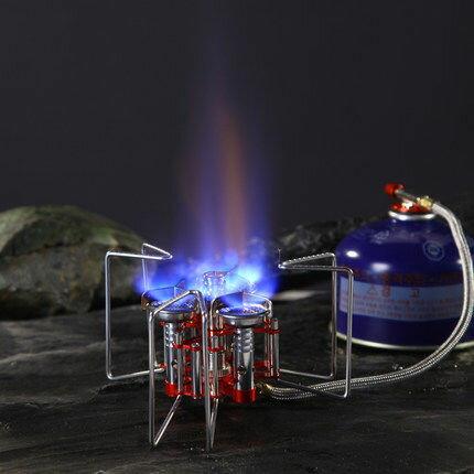 三足鼎立三爐頭攜帶式高山瓦斯爐