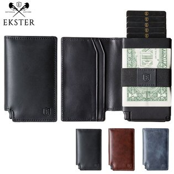 Ekster荷蘭x紐約設計品牌經典真皮皮夾信用卡夾RFID防盜