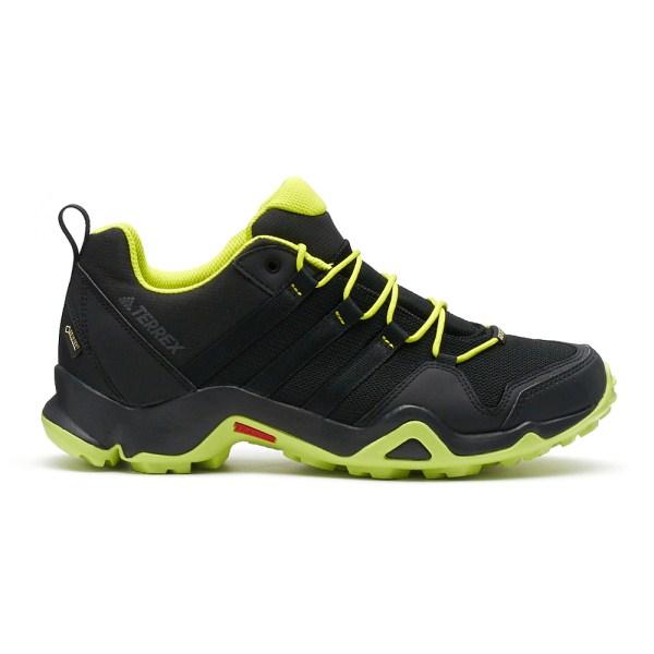 ADIDAS TERREX AX2R GTX 男鞋 健走 登山 網布 透氣 舒適 黑 黃【運動世界】S80910