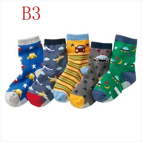 《任意門親子寶庫》 男女童襪 襪子 直板襪 短襪 中筒襪 【BS179】16春男童襪B3款